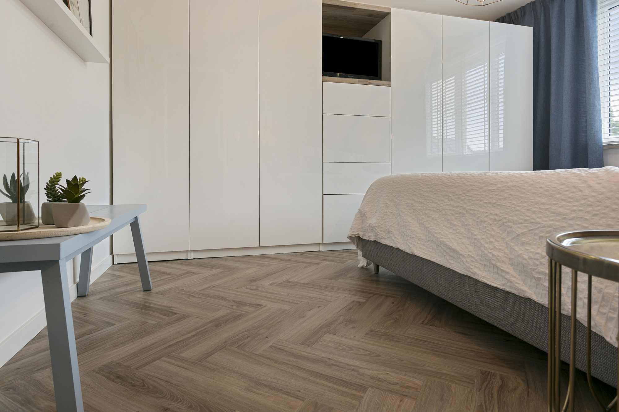 Moods Herringbone small Blackjack Oak 22229, ordernummer 145