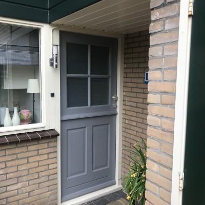 Buitendeuren  gemonteerd                                           HUBO XL losser 0535360534