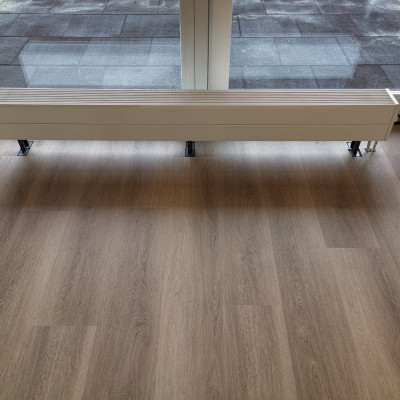 PVC click vloer gelegd in Zutphen