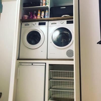 Kast voor wasmachine/droger