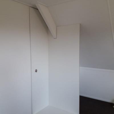 Schuifwand met aangepast interieur
