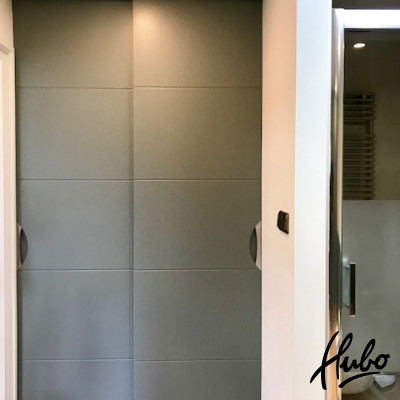 Moderne stijldeuren schuifwand