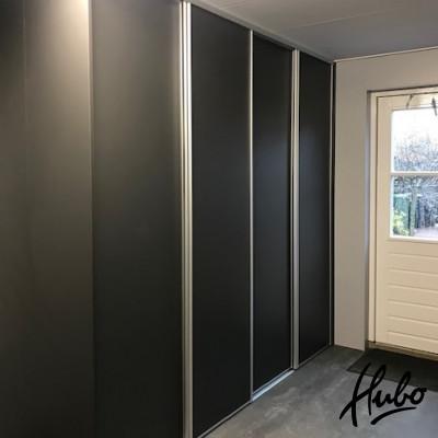 Schuifwand Black Grey