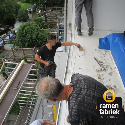 Renovatie voorgevel in Wormer